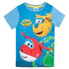 Super Wings T-Shirt I Boys Super Wings Jett Donnie Tee I Kids Super Wings Top