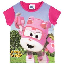 Girls Super Wings T-Shirt | Super Wings Top | Dizzy Super Wings Tee | NEW