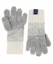 New Womens Superdry Ombre Clarrie Gloves Grey