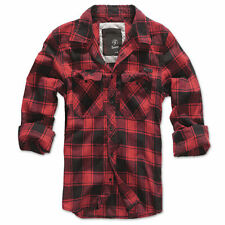 Camisa a cuadros Brandit Rojo Negro s-7xl woodcutter casual