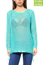 B.C. Best Connections by heine Pullover Damen Große Größen Grobstrick-Pullover