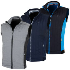 Calvin Klein Golf Mens 2018 Cyclone Full Zip Performance Stretch Padded Gilet