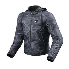 chaqueta hombre motorrad Rev'it Revit Flama negro black Chaqueta