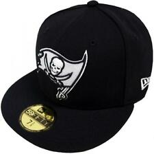 New Era NFL Tampa Bay Buccaneers Black White 59fifty Fitted Cap Limited Edition