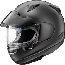 CASCO MOTO INTEGRALE ARAI QV-PRO FLAT BLACK AR3125FB IN SUPER FIBRA NERO OPACO