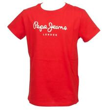 Tee shirt manches courtes Pepe jeans Art rge mc tee jr Rouge 15760 - Neuf