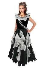 Girls Halloween Prom Queen Fancy Dress Costume