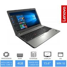 "Lenovo Thinkpad Ordinateur Portable E570, 15.6 "" Intel Core i3 / i5 CPU,4 Go"