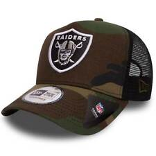 |80536756| Cappellino New Era – Ajustable Nfl Oakland Raiders Camo Team verde/ne