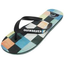 Tongs claquettes Quiksilver Molokai resin check jr Blanc 44735 - Neuf