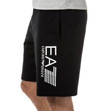 Mens Emporio Armani Ea7 Train Visibility Bermuda Croft Short In Navy