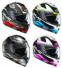 CASCO HELMET INTEGRALE INTEGRALI MOTO SCOOTER  HJC IS-17 LOKTAR VARI COLORI E TG