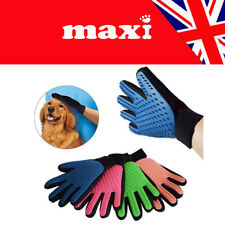 Grooming Deshedding Glove Dirt Hair Remover Brush For Puppy Dog Cat Pet UK