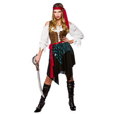NEW Caribbean Pirate - Ladies Pirates Fancy Dress Halloween Costume