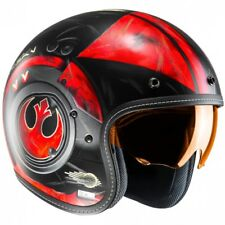CASCO HJC FG-70s POE DAMERON STAR WARS CUSTOM CAFE RACE SCRAMBLER MOTO MC1SF