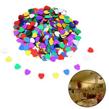 Shine Romantic Sparkle Love Heart Wedding Confetti Wedding Decoration
