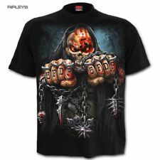Spiral Unisex Metal T Shirt Five Finger Death Punch GAME OVER Skull All Sizes