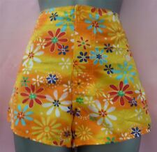 SLOGGI SLS TONGA SWIM SHORTS ORANGE PRINT SHORT SIZE 10