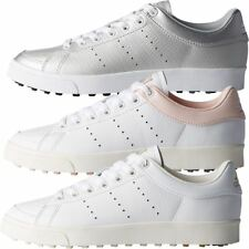 adidas Golf Ladies Adicross Classic Leather WoLadies Golf Shoes - Spikeless