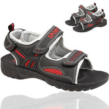 BOYS KIDS INFANTS SUMMER WALKING BEACH HOLIDAY CHILDRENS SHOES SANDALS SIZE 12-2
