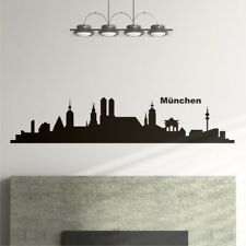 Munich HORIZON citadin PANORAMA SALON Sticker Autocollant Mural de portes