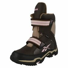 donna Reebok Thinsulate ADVENTURE Scarpe a stivaletto marrone / rosa stile -