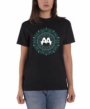 Asking Alexandria T Shirt Glitz band logo nouveau officiel Femme Noir Skinny Fit