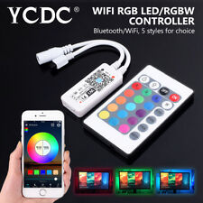 RGB/RGBW LED Strip Light Panel Lamp Bluetooth/Wifi Controller iOS Android APP D