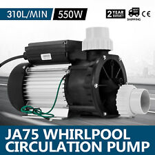 LX JA75 0.70HP Whirlpool Circulation Pump Hot Tub 3450rpm 550W 325L/min