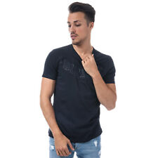 Mens Diesel T-Joe Crew Neck T-Shirt In Navy From Get The Label