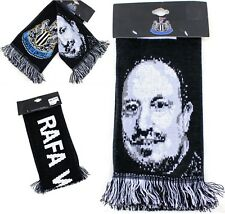 NUFC SCARF Newcastle United Football Club IN RAFA WE TRUST Supporter Fan MAGPIES