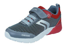 Geox Boys Trainers J Sveth B.C Comfortable Casual Shoes - Grey - RRP: £59.95