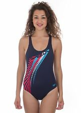 SPEEDO - COSTUME INTERO ENDURANCE+ JUNIOR - ZOOMFAST PLMT SPBK JF - BLU - 06-128