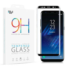 Full Cover 3D Curved Tempered Glass Screen Protector For Samsung Galaxy S8 S8+
