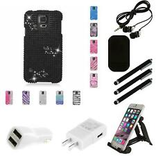 For Samsung Galaxy S5 Case Diamond Bling Luxury Fashion Cute Hard Cover Combo