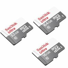 16/32/64GB SanDisk Ultra Micro SD SDHC/SDXC Karte CLASS 10 UHS-1 48MB/s