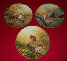 ROYAL DOULTON PLATES ROLLINSONS PORTRAITS OF NATURE - SELECT INDIVIDUAL PLATE