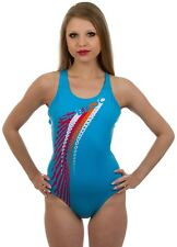 SPEEDO - COSTUME INTERO JUNIOR - ZOOMFAST PLMT SPBK JF - CELESTE - 06-128-6768