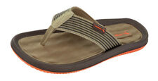 Mens Rider Flip Flops Dunas Beach Slip On Sandals - Taupe - See Sizes
