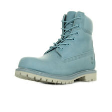 Chaussures Boots Timberland femme AF 6in Premium Lt Blue taille Bleu clair Bleue