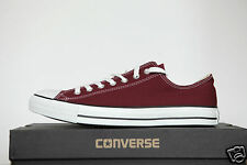Neuf ALL STAR CONVERSE Chucks bas chaussures baskets BORDEAUX M9691 taille 44, 5