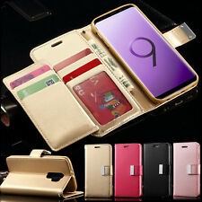 Case For Samsung Galaxy S8 S9 Plus Luxury Leather Wallet Magnet Flip Stand Cover