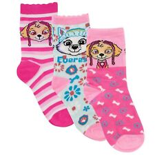 Paw Patrol Socks I Kids Paw Patrol Sock Pack I Skye Everest Socks