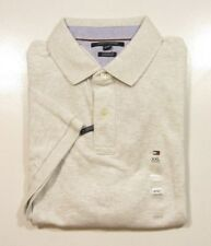 Tommy Hilfiger hombre gris claro Heather a medida Polo