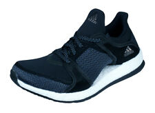 check out 6109e d7c6a Womens adidas Running Trainers Pure Boost X TR Fitness Shoes - Black Dark  Grey