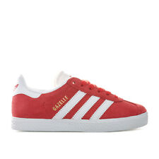 adidas Originals Baskets Gazelle Rouge Garçon