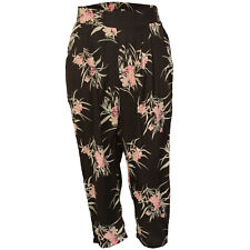 Ladies Vero Moda Anna Loose Pant In Black With Floral Design From Get The Label