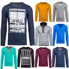 BOLF Outlet Sale Longsleeve sweatshirt maglia a maniche lunghe pullover casual