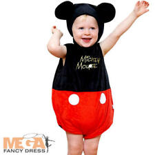 Mickey Mouse 3-24 Months Baby Boys Fancy Dress Disney Babies Kids Childs Costume