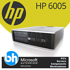 HP 6005 Pro Customizable Quad Core AMD Phenom B95 Windows 7 Pro SFF Desktop PC